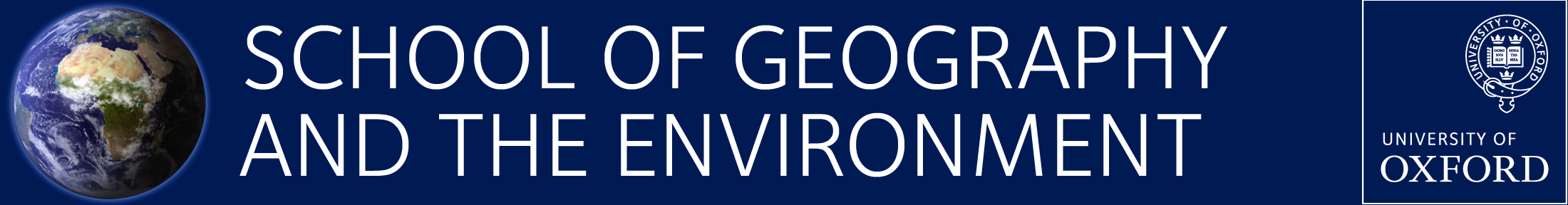 School of Geography and the Environment, University of Oxford
